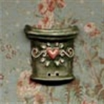 Picture of Green Pot & Red Heart