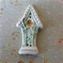 Picture of Tall Birdhouse Green