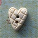 Picture of Small Patterned Heart Gold