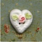 Picture of Lace Heart With Rose