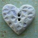 Picture of Patterened Heart Blue