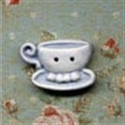Picture of Teacups - Left Blue