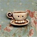 Picture of Teacups - Left Cream