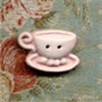 Picture of Teacups - Left Pink