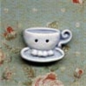 Picture of Teacups - Right  Blue