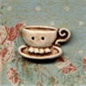 Picture of Teacups - Right Cream
