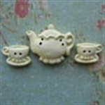 Picture of Teapot & Two Cups Lemon