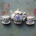 Picture of Glazed Tea Set (designs will vary)
