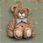 Picture of Bow Bear - Blue