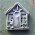 Picture of Square Birdhouse Blue