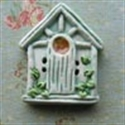 Picture of Square Birdhouse Green