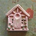 Picture of Square Birdhouse Pink