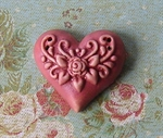 Picture of Intricate Heart Red