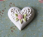 Picture of Intricate Heart White
