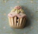 Picture of Large Rose Cup Cake Pink