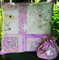 Picture of Fairy Cushion & Bag