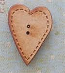 Picture of Wooden Stitched Heart large