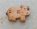 Picture of Wooden Hippo