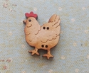 Picture of Wooden Brown Hen