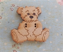 Picture of Wooden Sitting Bear