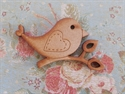 Picture of Wooden Bird Brooch